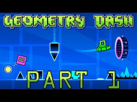 geometry dash full version part 1 full download stereo madness 100 walkthrough geometry