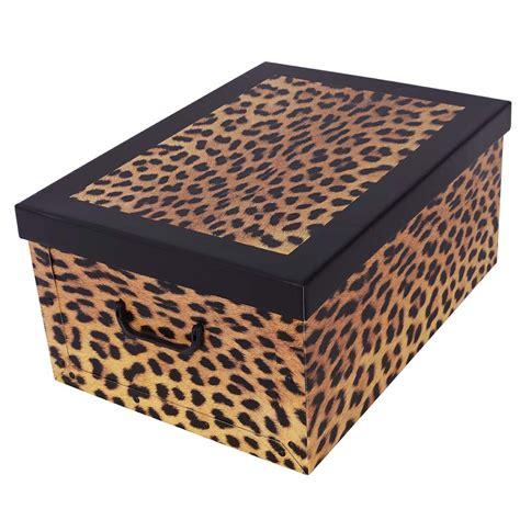 scatola per armadio scatola per armadi fashion leopardo