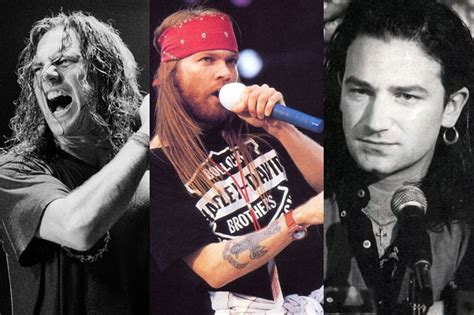 Guns N Roses Axl Jam Tangan la vez que pearl jam rechaz 243 una gira mundial con u2 y