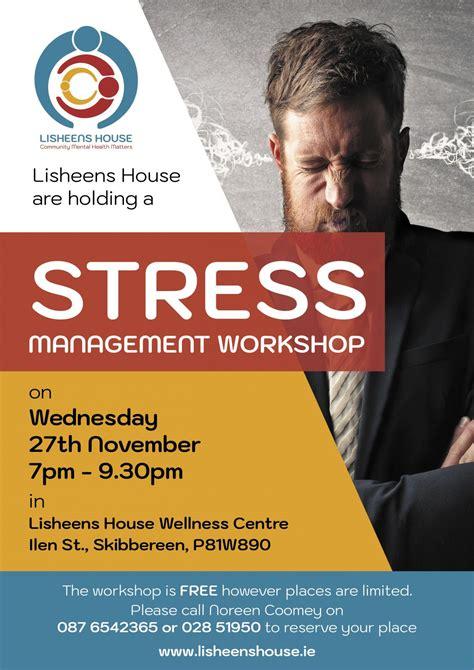 stress management workshop lisheens house