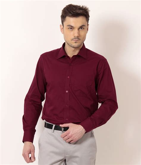 Peter England Gift Card - peter england cherry red basic formal shirt buy peter england cherry red basic