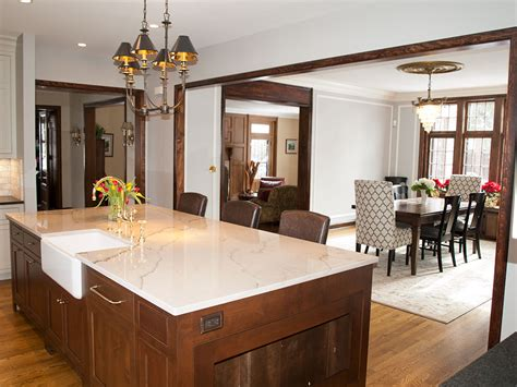 Opening Between Dining Room And Kitchen Kitchen Remodel Shaker Heights The Beard