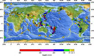 usgs earthquake map exploring seismology in the classroom using the usgs