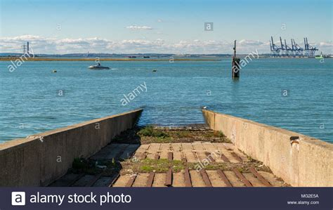 boat trips queenborough boat river medway kent stock photos boat river medway