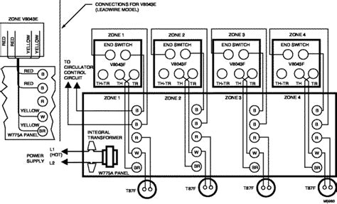 v8043f zone valve wiring schematic get free image about