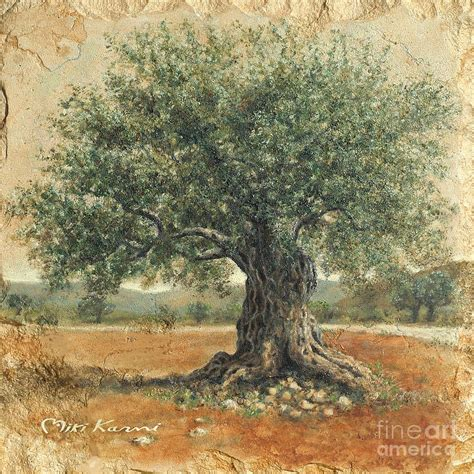 watercolor tattoo israel ancient olive tree painting ancient olive tree
