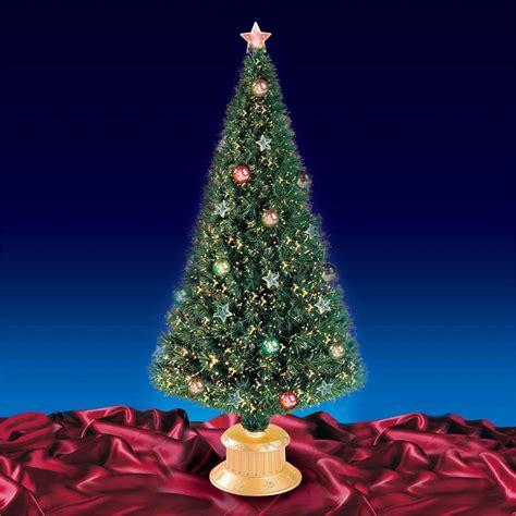 fantastic 5ft 150cm green fibre optic christmas tree with