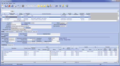 design erp application construction project management software erp maestro