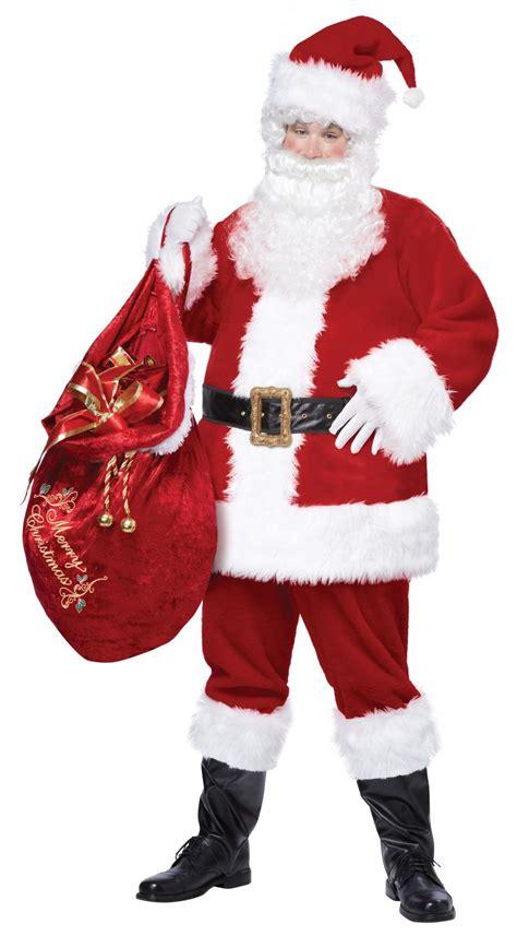 big santa claus santa claus deluxe suit costume size large x large 01274