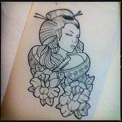 geisha tattoo book geisha outline tattoo design 2 tattoos book 65 000