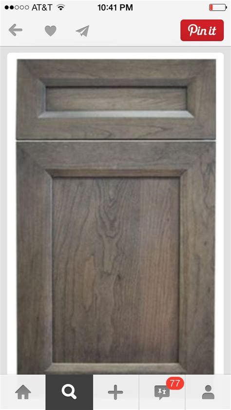 gray shaker kitchen cabinets gray brown stain for cabinets dream home pinterest