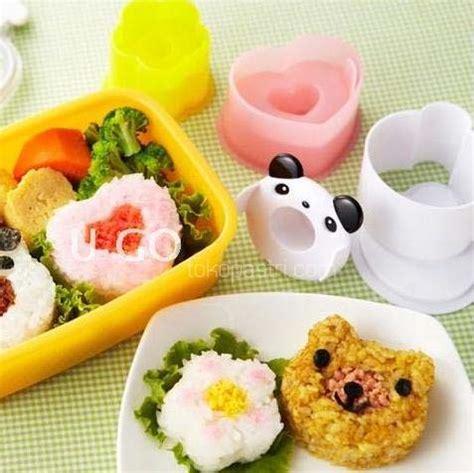 Cetakan Roti Cetakan Bento Cetakan Sushi Cetakan Kue Kering Pan Pita jual cetakan nasi bento bentuk panda bunga dan tokopastri