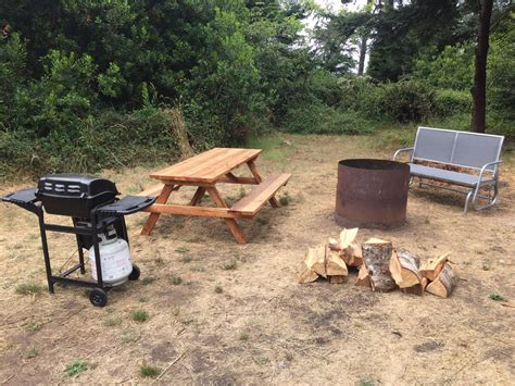 pit picnic table pit grill picnic table and bench included with our