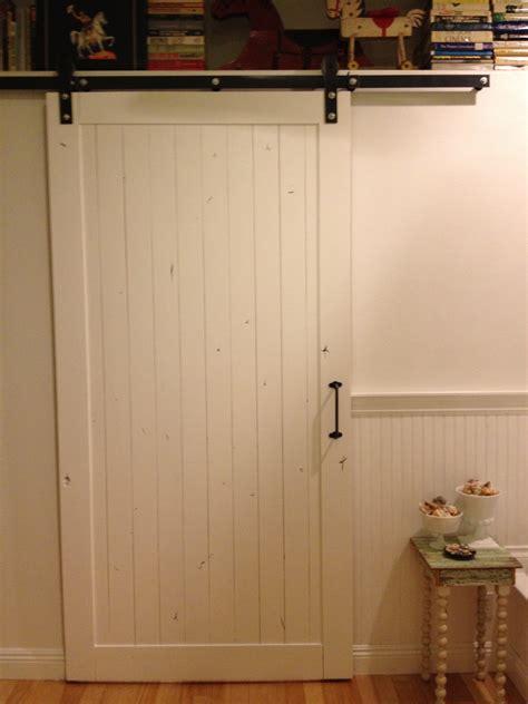 Diy Interior Barn Door by Diy Guess Who Installed Own Sliding Barn Door