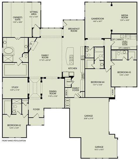 iii 125 drees homes interactive floor plans