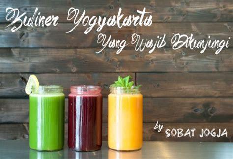 Juicer Jogja 17 tempat wisata kuliner di jogja yang wajib dikunjungi