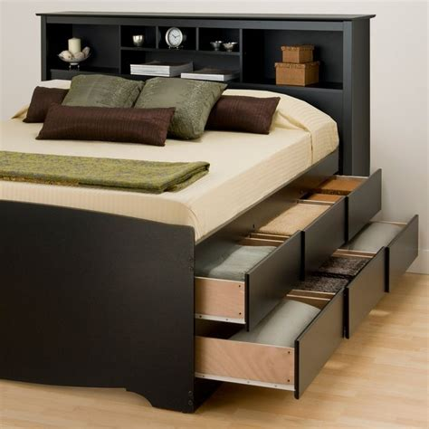 bookcase headboard ideas modern queen storage bed latest full size of queen size