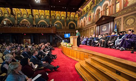 Georgetown Mpp Mba by Tenure And Promotions Recognized At Fall Faculty