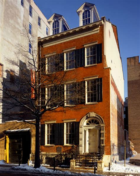 merchant s house museum at jhpa sanders architect