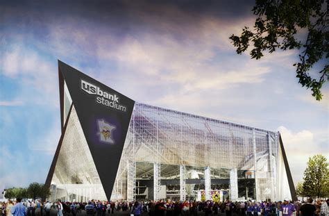 us a bank u s bank has deal for naming rights on new vikings