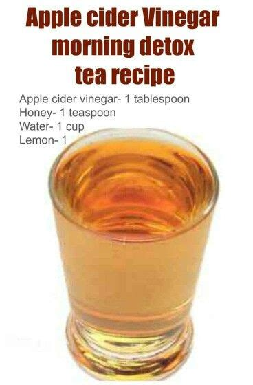Morning Detox Tea Apple Cider Vinegar by Apple Cider Vinegar Morning Detox Tea Recipe Apple Cider