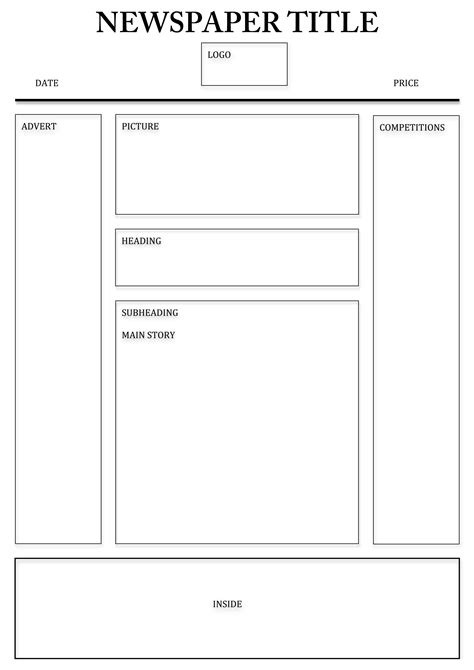oracle layout template design templates print free newspaper template oracle bi
