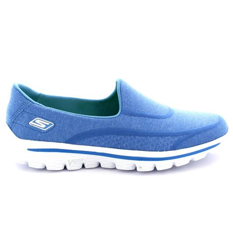 Sepatu Skechers Sport Memory Foam womens skechers go walk 2 sock walking memory foam sports trainers uk 3 8 ebay