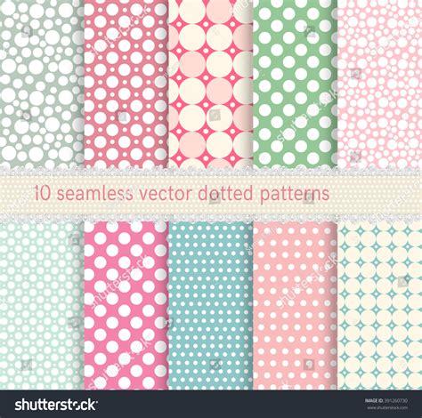 retro polka dot pattern vector by heizel on vectorstock polka dot vector seamless pattern vintage stock vector