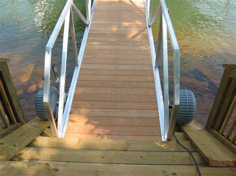 floating boat dock wheels retractable plastic gangway wheel assembly docks boat