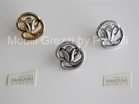 pomelli swarovski maniglie e pomelli maniglie con swarovski linea luxury