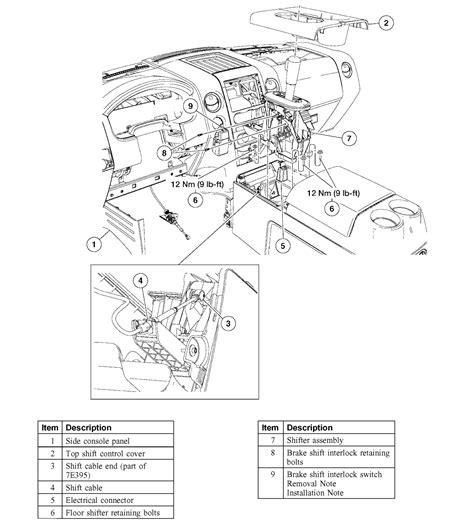Check Brake System 2010 F150 2004 F 150 Interlock Shift Out Of Park Lights