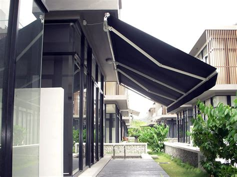 motorised retractable awnings awning rolashades custom window shades