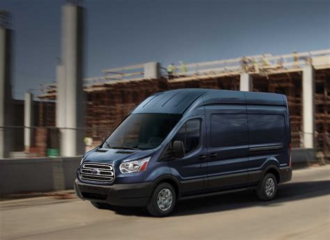 2016 ford transit ford transit and transit connect vans get updates for 2016