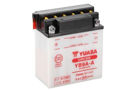 Motorrad Batterie Ladegerät Test by Yb9a A Yumicron Motorrad Powersport Batterien
