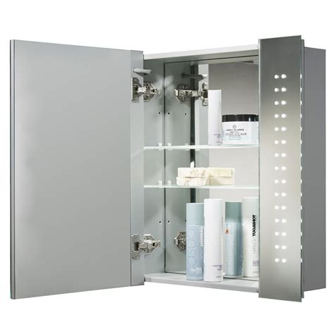 Led Bathroom Cabinet With Shaver Socket by 60 Led Illuminated Touch Sensor Bathroom Mirrors Cabinets