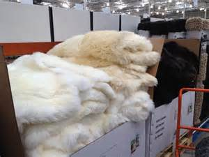 great find costco sheepskin rug twoinspiredesign
