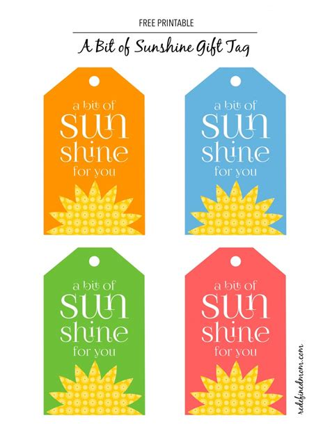 free printable yellow gift tags diy a bit of sunshine gift with free printable tags