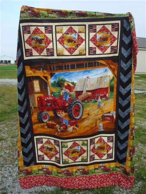 just a who sews farmall quilt