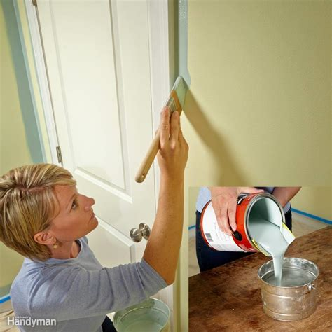 the best tips for cutting in paint the family handyman