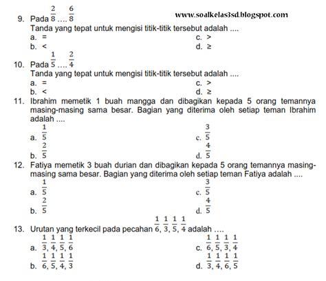 Mega Bank Soal Matematika Smp Kelas 1 2 3 latihan soal matematika sd kelas 3 newhairstylesformen2014
