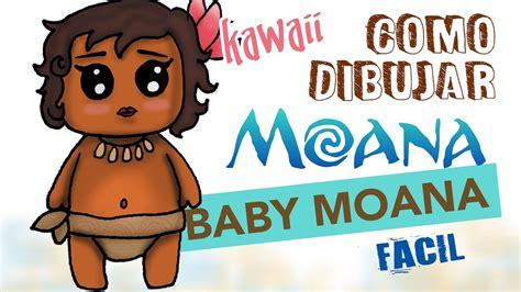 imagenes de bebes kawaii como dibujar moana bebe kawaii dibujo f 225 cil para ni 241 os