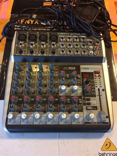 Mixer Behringer Xenyx Qx1202usb behringer xenyx qx1202usb image 1778242 audiofanzine