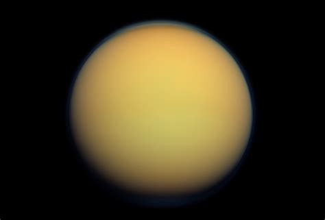 saturn s largest moon titan s atmosphere may be than saturn a new study