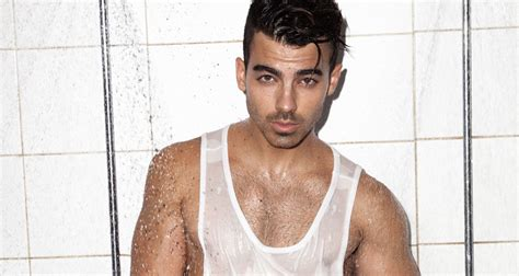 Jonas Jj joe jonas gets in the shower with notion magazine dnce