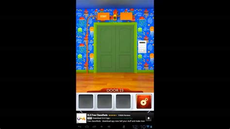 100 doors level 23 100 doors 2 level 23 walkthrough cheats youtube