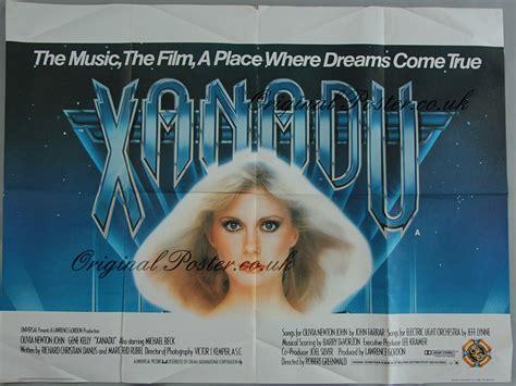 xanadu full film version xanadu original vintage film poster original poster