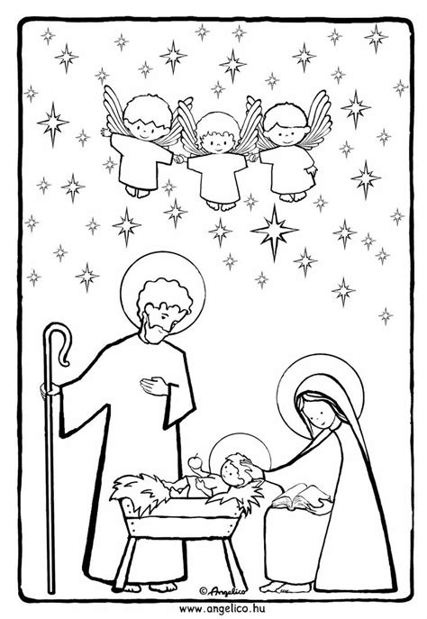 printable coloring pages holy family holy family coloring advent ephipany