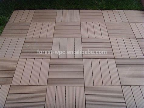 wholesale 500x500mm low maintenance deck tiles lowes