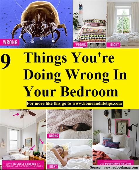 9 things you re doing wrong in your bedroom home and