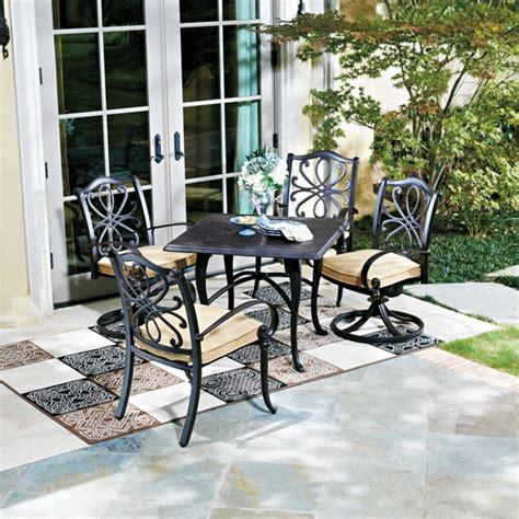 woodard 5 patio dining set wd set1